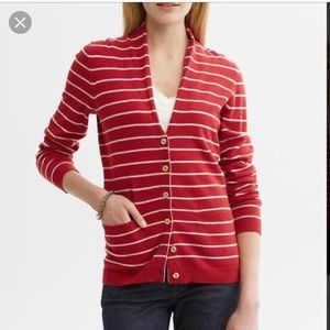 Banana republic high neck cardigan